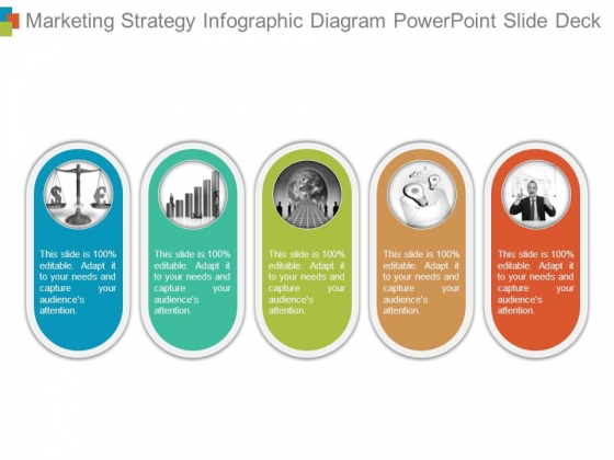 Marketing Strategy Infographic Diagram Powerpoint Slide Deck