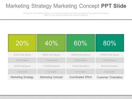 Marketing Strategy Marketing Concept Ppt Slide