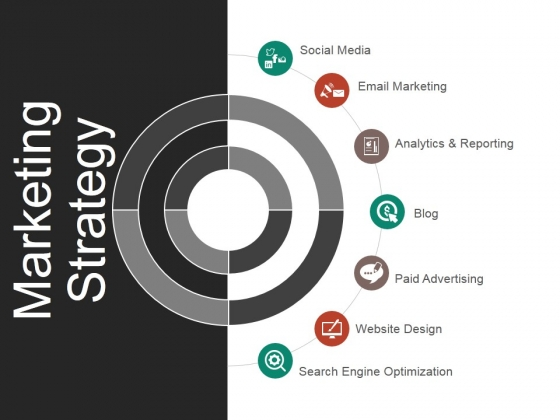 marketing strategy ppt powerpoint presentation infographics graphics