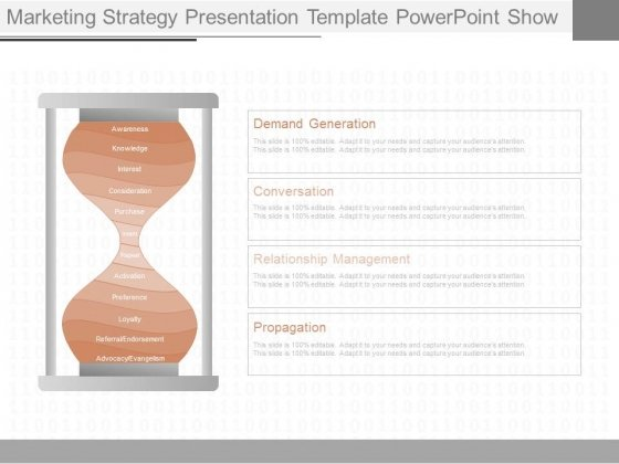 Marketing Strategy Presentation Template Powerpoint Show
