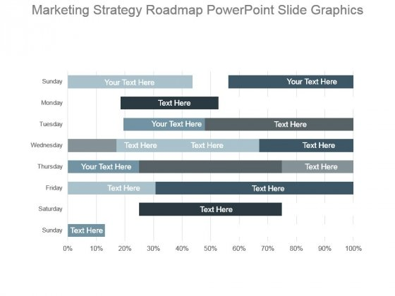Marketing Strategy Roadmap Powerpoint Slide Graphics