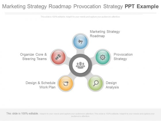 marketing strategy roadmap provocation strategy ppt example