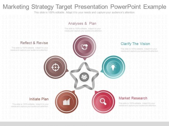Marketing Strategy Target Presentation Powerpoint Example