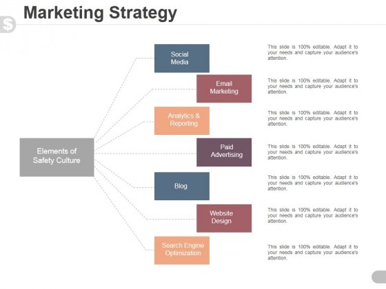 Marketing Strategy Template 1 Ppt PowerPoint Presentation Professional