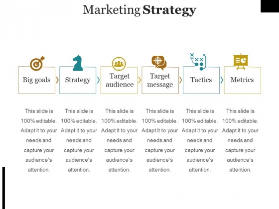 Marketing Strategy Template Ppt PowerPoint Presentation Visual Aids Example 2015