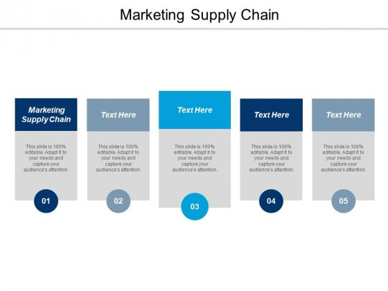 Marketing Supply Chain Ppt PowerPoint Presentation Show Guidelines Cpb