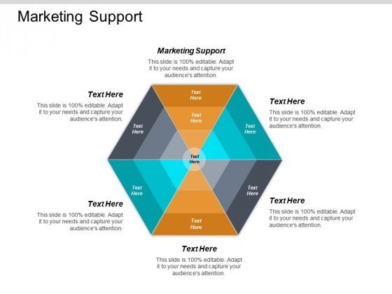 Marketing Support Ppt PowerPoint Presentation Gallery Show Cpb