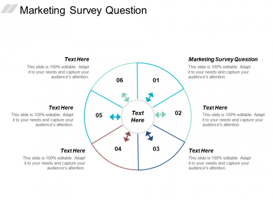Marketing Survey Question Ppt PowerPoint Presentation Layouts Display Cpb