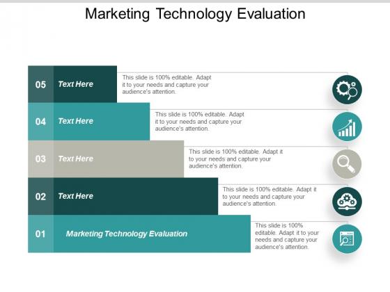 Marketing Technology Evaluation Ppt PowerPoint Presentation Inspiration Portrait Cpb