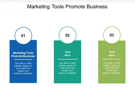 Marketing Tools Promote Business Ppt PowerPoint Presentation Professional Layout Ideas Cpb