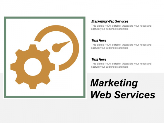 Marketing Web Services Ppt PowerPoint Presentation Model Clipart Images Cpb