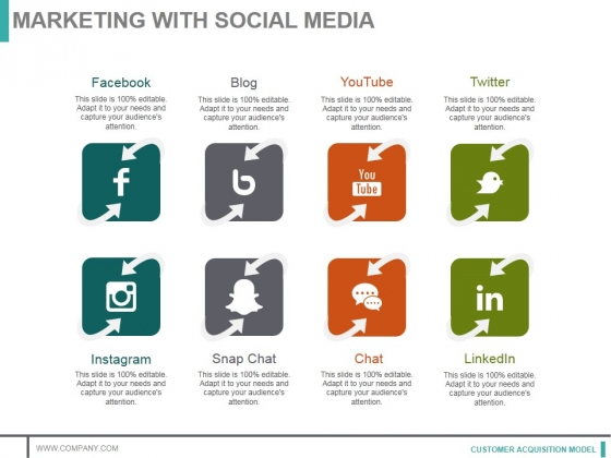 Marketing With Social Media Ppt PowerPoint Presentation Styles Picture