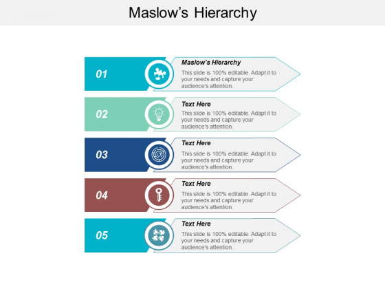 Maslows Hierarchy Ppt Powerpoint Presentation Gallery Graphics Tutorials Cpb