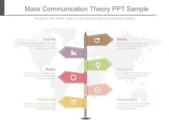 Mass Communication Theory Ppt Sample