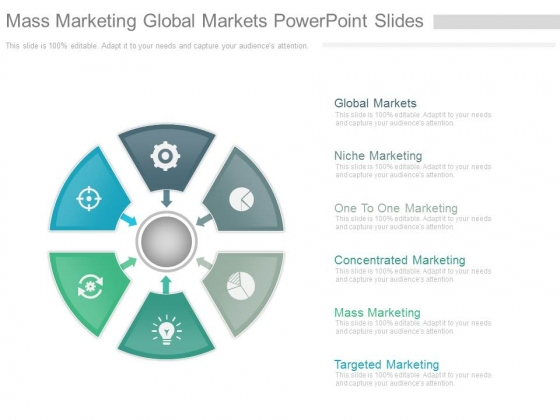 Mass Marketing Global Markets Powerpoint Slides