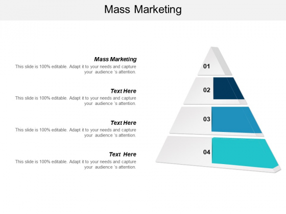 Mass Marketing Ppt PowerPoint Presentation Pictures Inspiration Cpb