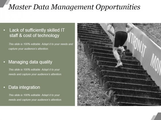 Master Data Management Opportunities Ppt PowerPoint Presentation Model
