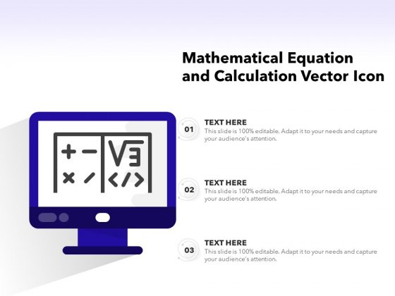 Mathematical_Equation_And_Calculation_Vector_Icon_Ppt_PowerPoint_Presentation_Show_Objects_PDF_Slide_1