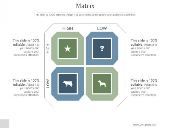 Matrix Ppt PowerPoint Presentation Background Designs