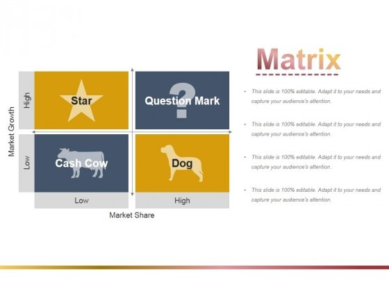 Matrix Ppt PowerPoint Presentation File Objects