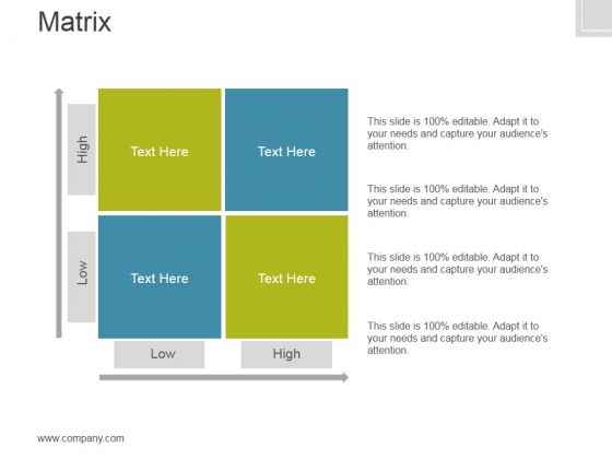 Matrix Ppt PowerPoint Presentation Files