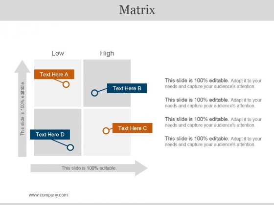 Matrix Ppt PowerPoint Presentation Icon Files