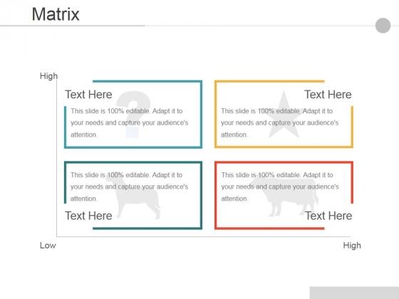 Matrix Ppt PowerPoint Presentation Icon Inspiration
