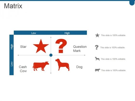 Matrix Ppt PowerPoint Presentation Infographic Template Elements