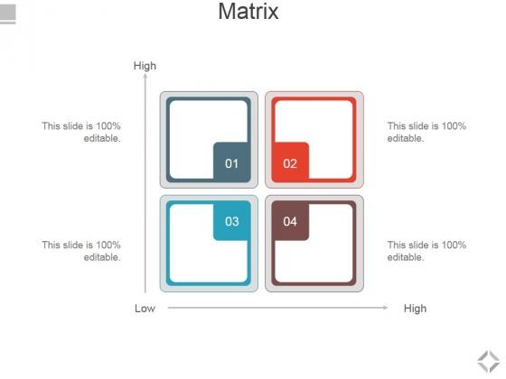 Matrix Ppt PowerPoint Presentation Infographic Template Show