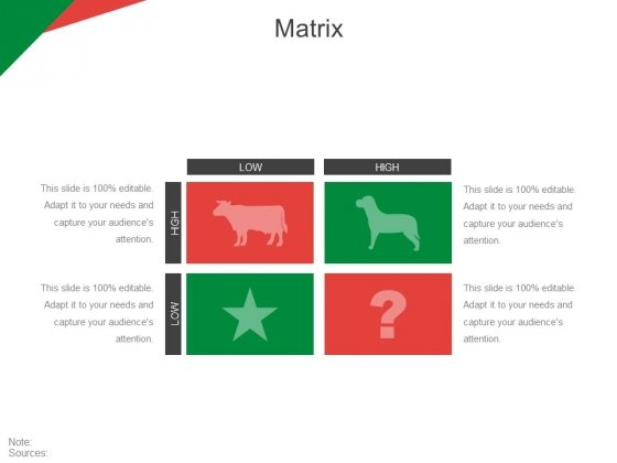 Matrix Ppt PowerPoint Presentation Inspiration Aids