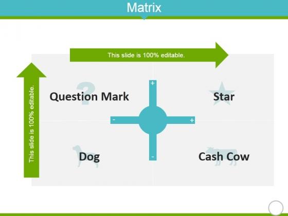 Matrix Ppt Powerpoint Presentation Inspiration Graphics Tutorials