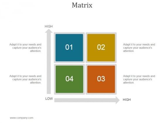 Matrix Ppt PowerPoint Presentation Inspiration