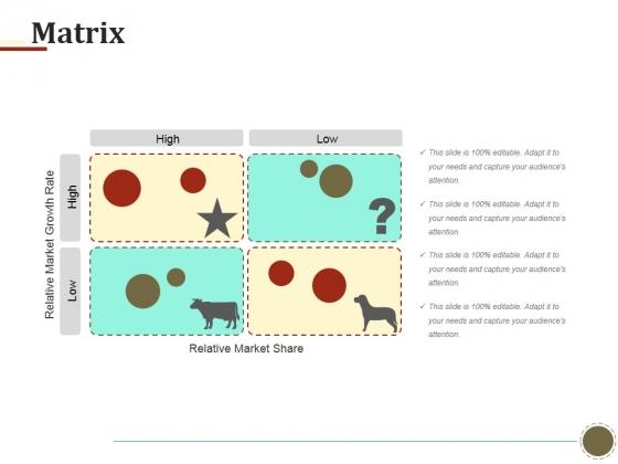 Matrix Ppt PowerPoint Presentation Model Influencers