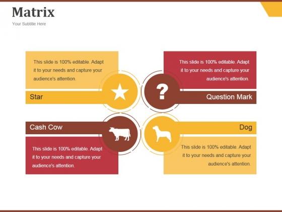 Matrix Ppt PowerPoint Presentation Outline Ideas