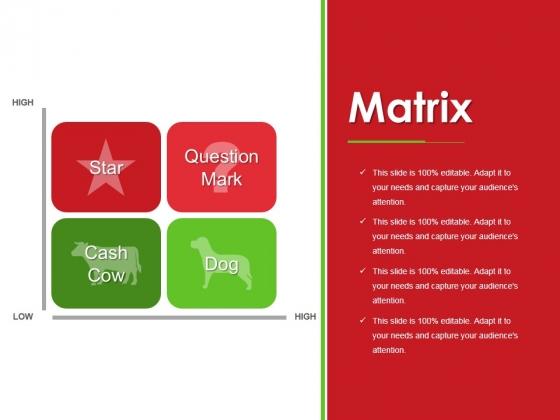 Matrix Ppt PowerPoint Presentation Pictures Show
