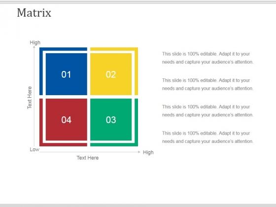 Matrix Ppt PowerPoint Presentation Portfolio Portrait