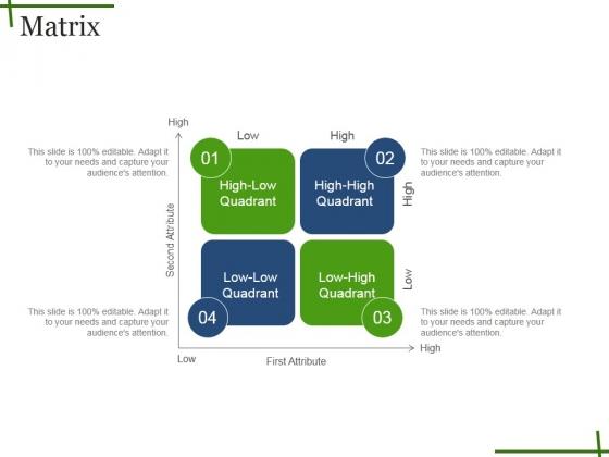 Quadrant powerpoint templates slides and graphics matrix ppt powerpoint presentation professional slide toneelgroepblik Images