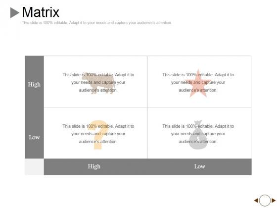 Matrix Ppt PowerPoint Presentation Show Templates