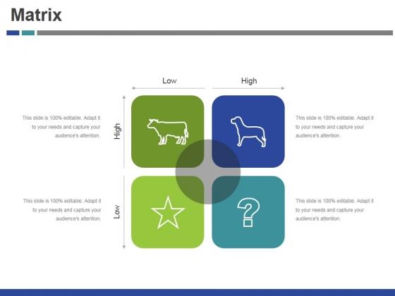 Matrix Ppt PowerPoint Presentation Slides Examples