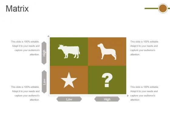 Matrix Ppt PowerPoint Presentation Slides Gridlines
