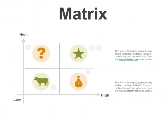 Matrix Ppt PowerPoint Presentation Summary Master Slide