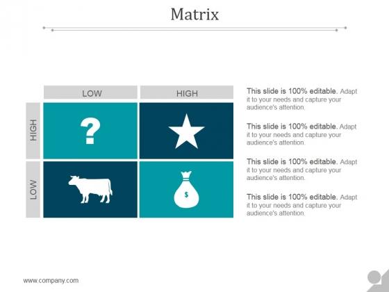 Matrix Ppt PowerPoint Presentation Tips