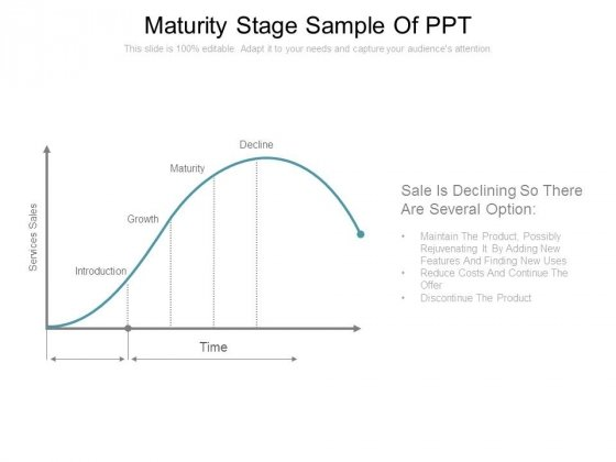 Maturity Stage Sample Of Ppt
