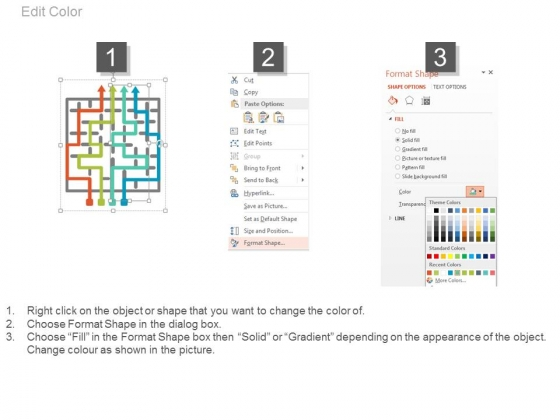 Maze_With_Alphabets_And_Arrows_For_Solution_Powerpoint_Template_4