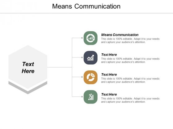Means Communication Ppt PowerPoint Presentation Inspiration Graphics Download Cpb