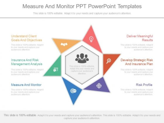 Measure And Monitor Ppt Powerpoint Templates