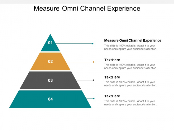 Measure Omni Channel Experience Ppt PowerPoint Presentation Inspiration Icons Cpb