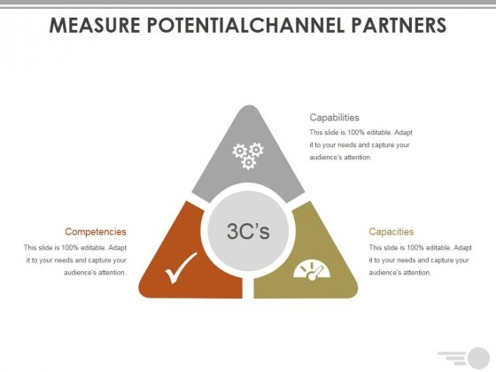 Measure Potentialchannel Partners Template Ppt PowerPoint Presentation Model Designs