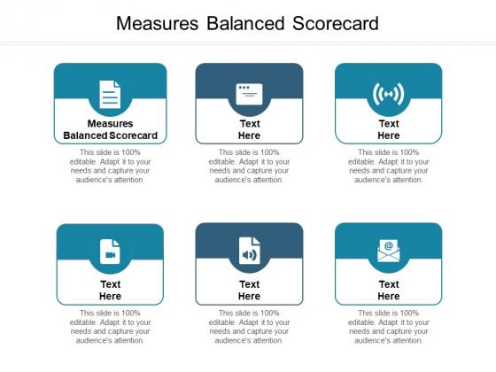 Measures Balanced Scorecard Ppt PowerPoint Presentation Portfolio Guide Cpb