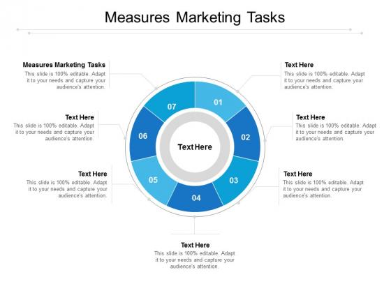 Measures Marketing Tasks Ppt PowerPoint Presentation Inspiration Outline Cpb